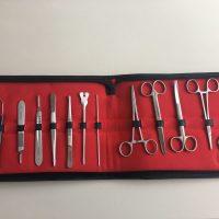 trusa mica chirurgie 13 instrumente