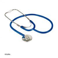 Stetoscop capsula simpla kawe-albastru