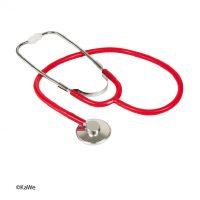 Stetoscop capsula simpla kawe rosu